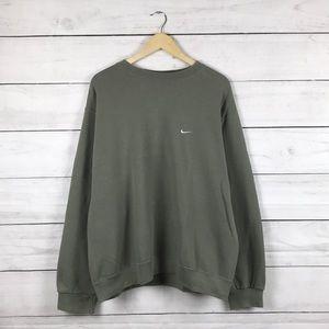 Vintage 1990s Nike Olive Sweatshirt